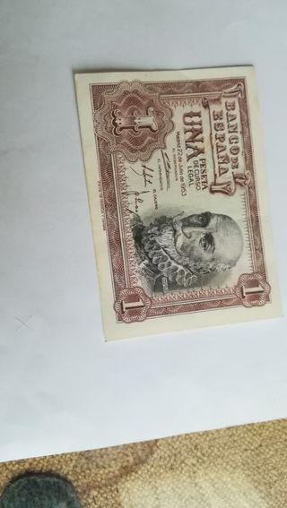 1 peseta de 1953