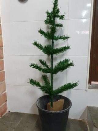 Árbol de Navidad para maceta