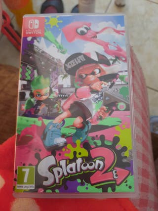 vendo juego se splantoon 2 de la nintendo switch