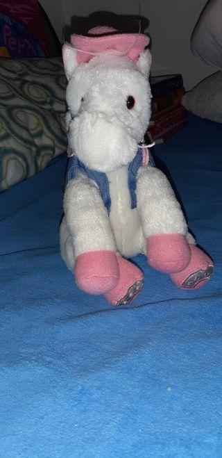 peluches unicornio/caballo