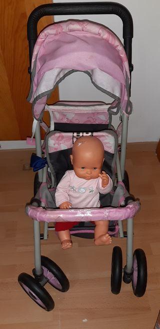 Carro de bebés de juguete