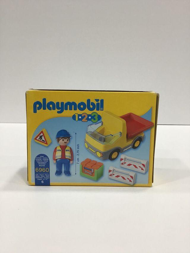 Playmobil infantil camión obra