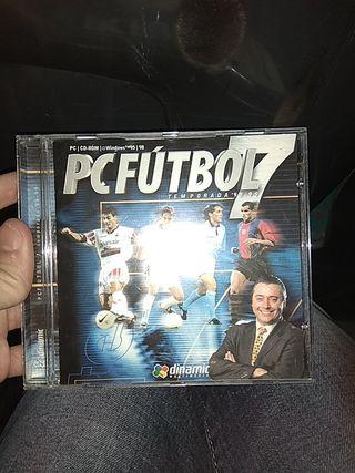 juego simulación pc fútbol 7