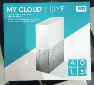 Disco Duro WD My Cloud Home 4TB.