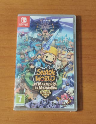 Snack World: Edición Oro ( Precintado, Switch )