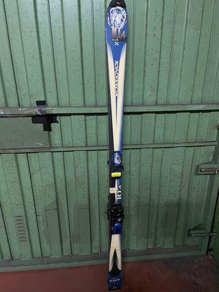 """Esquís """"Rossignol 10.4 cut"""" de 160cm"""