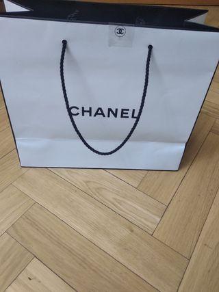 Bolsa de papel Chanel