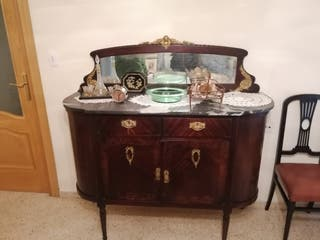 cómoda antigua principios siglo XX