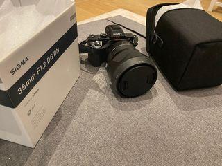 Sigma art 35mm f1.2 DG DN sony e