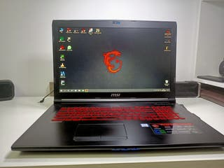 "Portátil MSI GL72MVR de 17""3 RGB 4K Gaming Laptop"