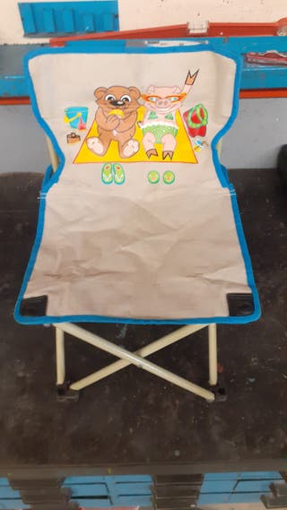 silla plegable niño/a