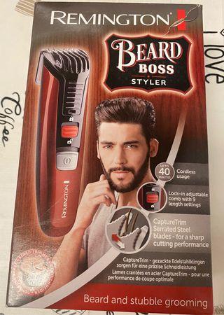 Corta barbas REMINGTON Beard Boss Styler