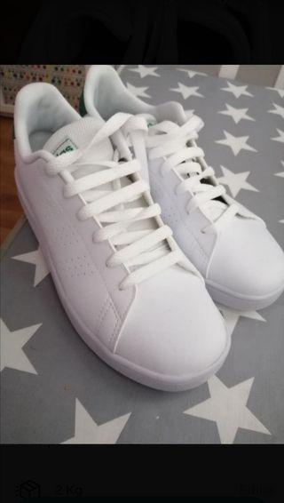 Deportivas blancas Adidas n37