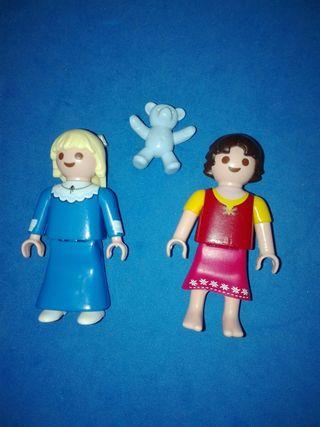 numero 720 playmobil pareja niñas victoriano