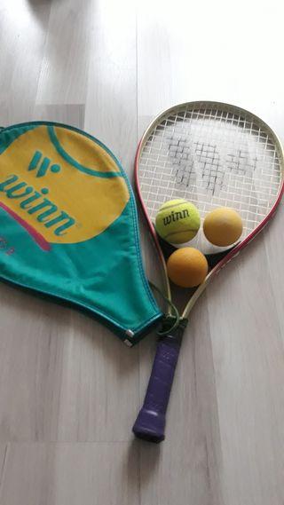 raqueta winn junior