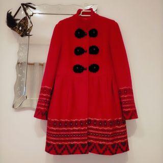 abrigo DERHIY lana 100%