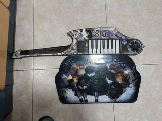 Guitarra y Batería infantil