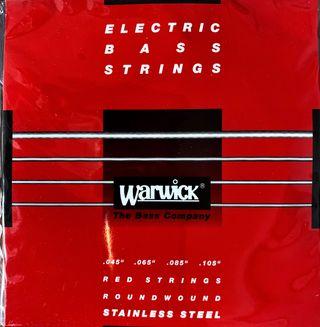 Cuerdas de bajo Warwick 045-105 Jgo