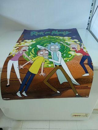 póster de Rick y Morty