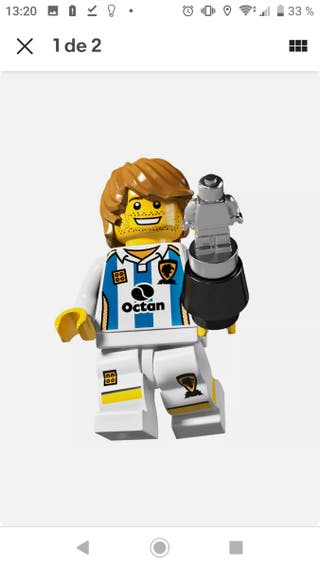 lego series 4 soccer player