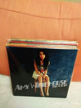 AMY WINEHOUSE - BACK TO BLACK - LP