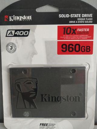 Disco duro Kingston A400 960 GB sata3
