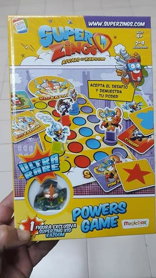 juego superthings con ultra raro KID KAZOOM