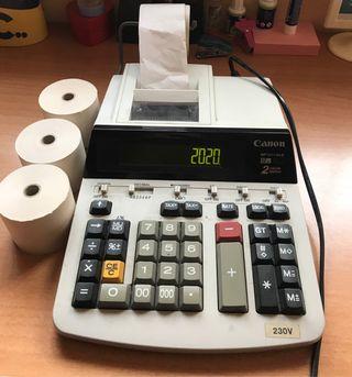 Calculadora impresora Canon