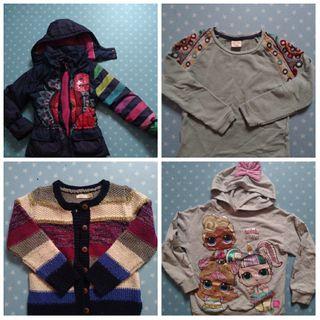 Set ropa niña 7-8 años