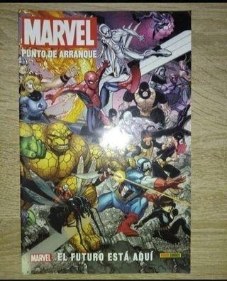 especial Marvel punto de arranque