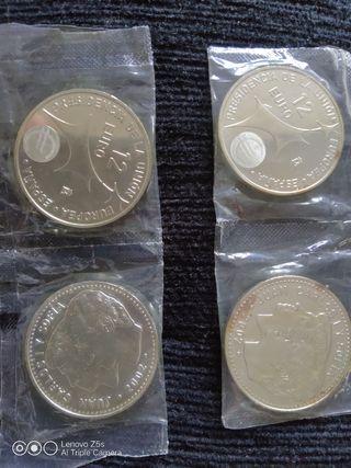 Monedas de 12€