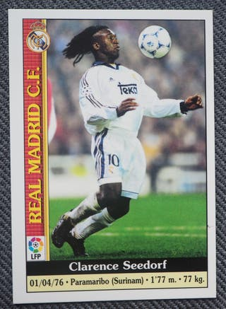 32 SEEDORF R. MADRID MUNDICROMO LIGA 1999-2000