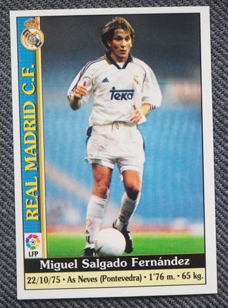 446 MICHEL R. MADRID MUNDICROMO LIGA 1999-2000