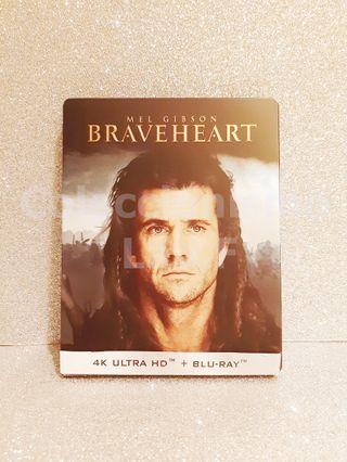 Steelbook Bluray 4K Braveheart Coleccionista