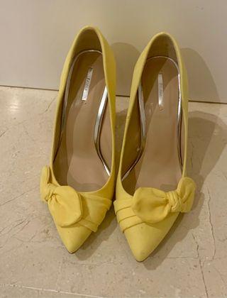 Zapato tacón Bershka
