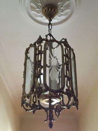 2 lámparas techo