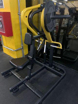 Máquina gimnasio remo