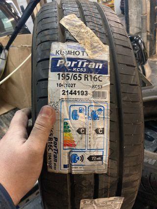 Neumáticos kumho 195 65 16