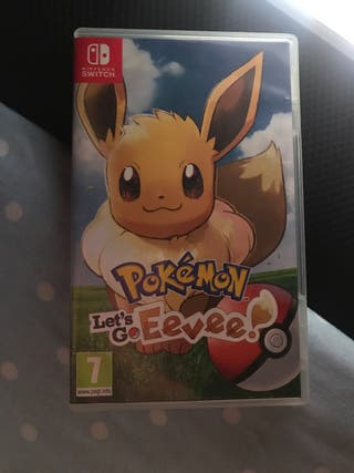 Pokemon let's go eevee. Juego nintendo switch