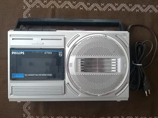 Radio cassette PHILLIPS D7143