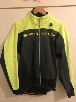 LOTE Sportful chaqueta talla L + maillot XL