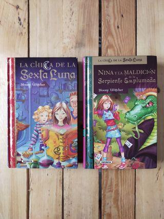 Pack 2 libros de La Chica de la Sexta Luna 1, 3