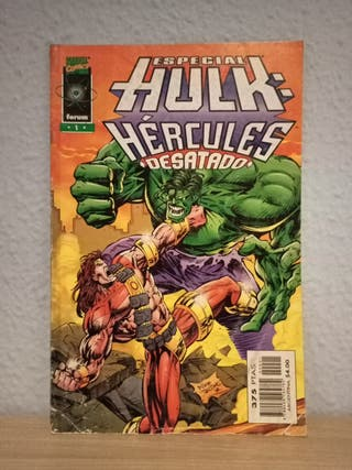Especial Hulk: Hércules desatado