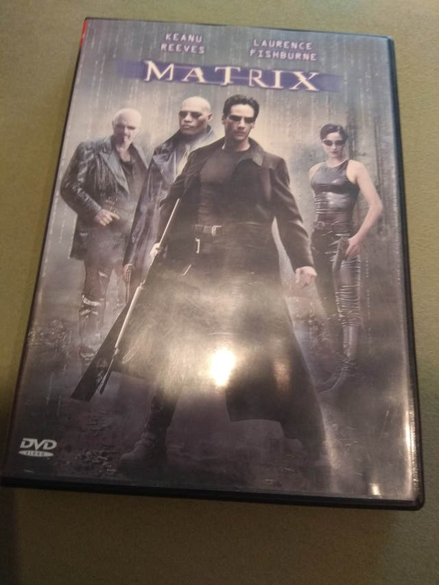 DVD original Matrix