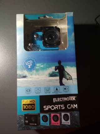 Cámara deportiva tipo GoPro