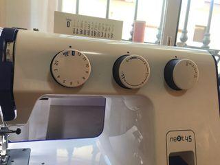 Maquina coser alfa next 45