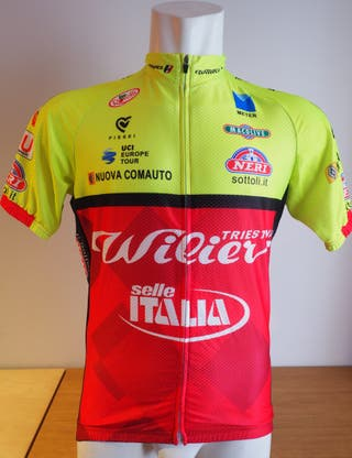 Maillot WILIER SELLE ITALIA Talla L dabe