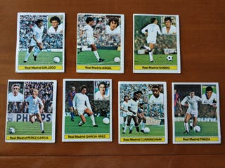 CROMOS LIGA FUTBOL 81 - 82 REAL MADRID