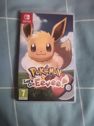 Pokémon Let's go Eevee - Nintendo Switch