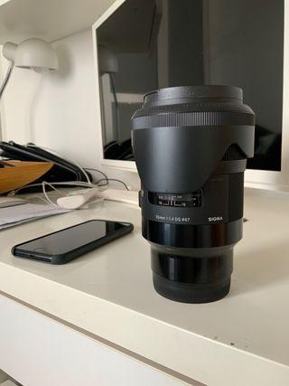 Objetivo 35mm para Sony